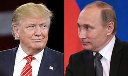 Tổng thống Nga Putin và ông Trump điện đàm