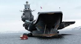 """Tàu sân bay """"Đô đốc Kuznetsov"""" tham chiến tại Syria"""