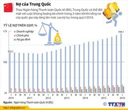 Nợ của Trung Quốc tiềm ẩn nhiều nguy cơ