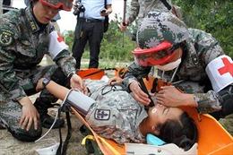 Trung-Mỹ diễn tập cứu trợ thảm họa chung
