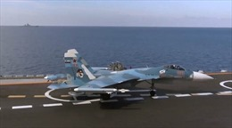 Su-33 Nga tiêu diệt hàng chục phiến quân tại Syria