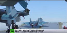 """""""Đô đốc Kuznetsov"""" khẩn trương trước nhiệm vụ đầu tại Syria"""