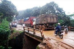 Lào Cai: Tai nạn giao thông làm một người chết, tỉnh lộ 151 tắc nghẽn