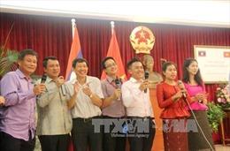 Hội đàm Hội Hữu nghị hai nước Việt Nam - Lào