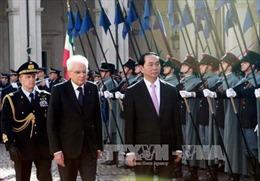 Quyết tâm đưa quan hệ đối tác chiến lược Việt Nam-Italy đi vào chiều sâu