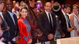 Hoa hậu Sương Đặng làm giám khảo