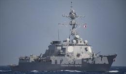 """Mỹ điều """"vệ sĩ"""" hộ tống tàu Pháp đánh IS ở Địa Trung Hải"""