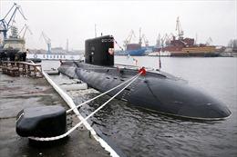 Tàu ngầm diesel lớp Varshavyanka thứ 6 của Nga đi vào hoạt động
