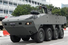 Lô xe thiết giáp bị giữ tại Hong Kong là của Singapore