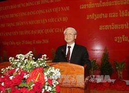 Quan hệ Việt - Lào: Tài sản chung vô giá, có ý nghĩa sống còn của hai dân tộc