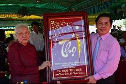 Nhà lưu niệm đồng chí Ngô Thị Huệ có ý nghĩa lịch sử quan trọng