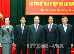 Thủ tướng Nguyễn Xuân Phúc tiếp xúc cử tri Hải Phòng