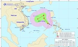 Tin bão trên biển Đông, cơn bão số 9