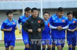 Tuyển Việt Nam tập kín chờ đấu Campuchia