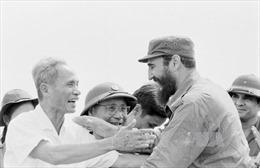Lãnh tụ Cuba Fidel Castro: Người bạn lớn của Việt Nam
