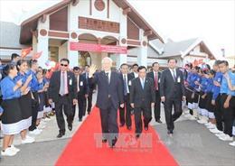 Chuyến thăm Lào của Tổng Bí thư đã thành công tốt đẹp