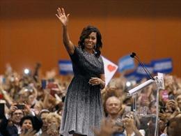 Tổng thống Mỹ Barack Obama nói về khả năng vợ ra tranh cử