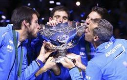 """Argentina """"phá dớp"""" để lần đầu vô địch Davis Cup"""