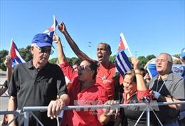 Ông Kim Jong Un viếng lãnh tụ Cuba Fidel Castro