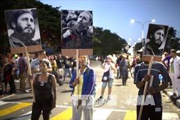 Người Việt tại Mexico tưởng niệm lãnh tụ Cuba Fidel Castro