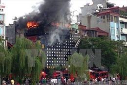 Nhiều cán bộ bị cách chức sau vụ cháy quán karaoke phố Trần Thái Tông