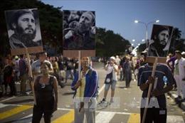 Cuba tiến hành lễ rước tro cốt lãnh tụ cách mạng Fidel Castro