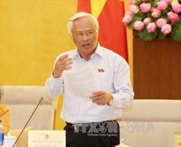 Phó Chủ tịch Quốc hội Uông Chu Lưu tiếp cán bộ tiêu biểu ngành dầu khí