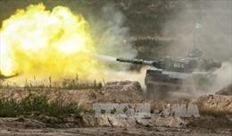 Ukraine bắt đầu tập trận bắn tên lửa gần Crimea