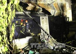 Hỏa hoạn thiêu rụi một căn nhà, một người bị thương