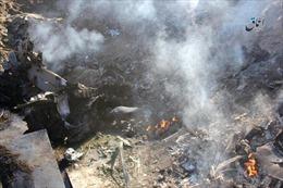 Rơi máy bay tiêm kích F-16 ở Jordan, phi công thiệt mạng