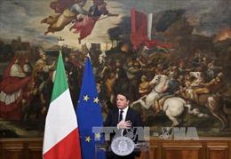 Thủ tướng Italy Matteo Renzi chính thức từ chức