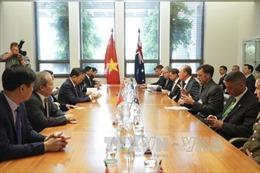 Bộ trưởng Bộ Công an Tô Lâm làm việc tại Australia