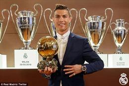 Quả bóng vàng 2016 chỉ của Cristiano Ronaldo