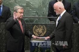 Tân Tổng thư ký António Guterres cam kết cải tổ LHQ