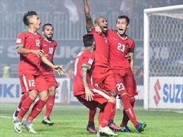 Ngược dòng thành công, tuyển Indonesia nắm lợi thế trước Thái Lan