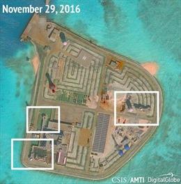 AMTI: Trung Quốc triển khai vũ khí phòng không trên đảo nhân tạo ở Biển Đông