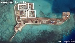 Trung Quốc quân sự hóa Biển Đông, Mỹ 'sẵn sàng đối đầu'