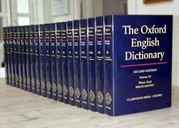 """""""Brexit"""" được đưa vào từ điển Oxford"""