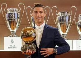 Quả bóng Vàng lần thứ 4 cho Cristiano Ronaldo