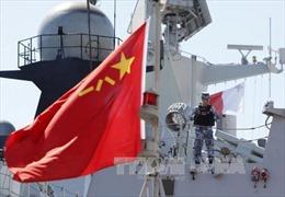 Hải quân Trung Quốc diễn tập bắn đạn thật