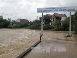 Bình Định di dời gần 1.000 dân vùng ngập lũ đến nơi an toàn