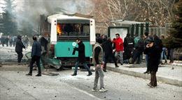 Hơn 60 người thương vong trong vụ đánh bom xe bus Thổ Nhĩ Kỳ