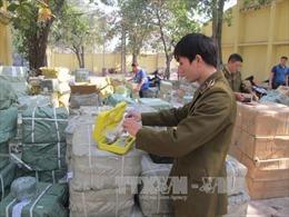 Bắt giữ  nhiều vụ vận chuyển hàng hóa nghi nhập lậu