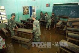 Bình Định huy động mọi lực lượng khắc phục hậu quả mưa lũ