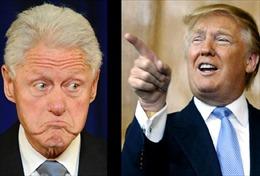 Lộ diện màn đấu khẩu kịch tính trên Twitter giữa ông Trump và ông Clinton