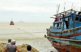 Kêu gọi hỗ trợ khẩn cấp 2 tàu cá hỏng máy, trôi tự do trên biển