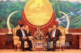 Tổng Bí thư, Chủ tịch nước Lào tiếp đoàn Bộ Kế hoạch và Đầu tư Việt Nam
