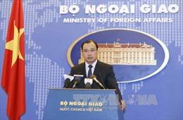 Yêu cầu Trung Quốc chấm dứt các hoạt động xâm phạm chủ quyền Việt Nam