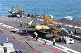Đội hình tàu sân bay Liêu Ninh huấn luyện và thử nghiệm