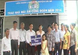 Gần 2.000 mái ấm cho người lao động Tiền Giang